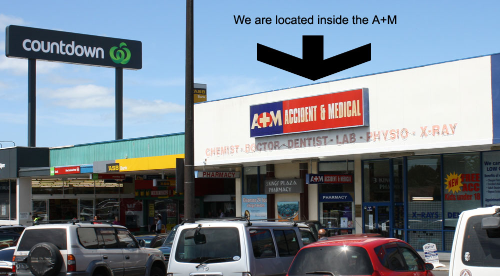 Three Kings Dental Centre - Contact Us